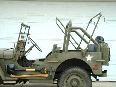 Rollbar For The Ww2 Jeep Ww2 Jeeps